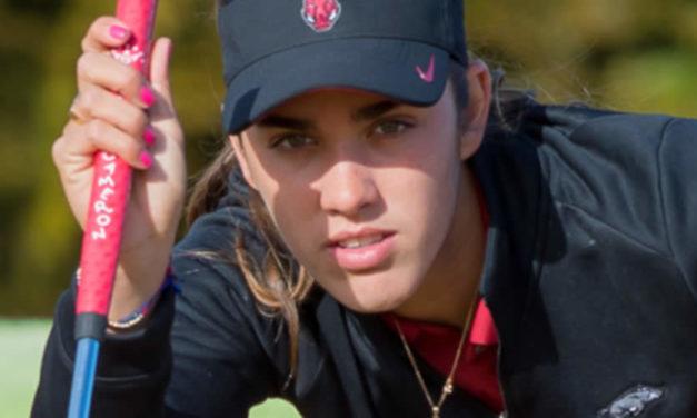 Un día con la futura mejor golfista de México