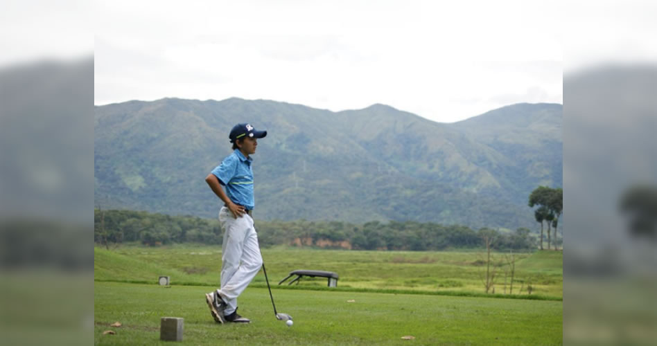 Venezolano Sebastiano Mascia ganador en el Premier Junior Golf Tour