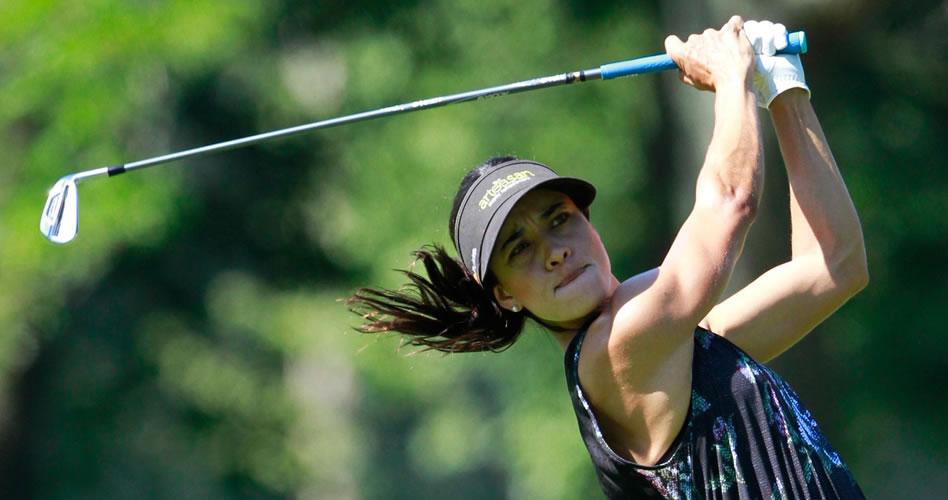 Verónica Felibert jugando esta semana el PHC Classic