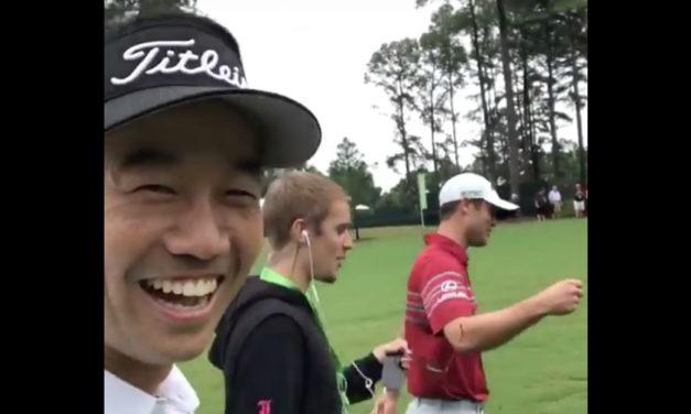 "Video del popular Justin Bieber ""raping"" con golfistas del PGA Championship"