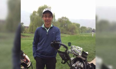 Virgilio Paz en el segundo lugar del XIX Campeonato Juvenil de Chile