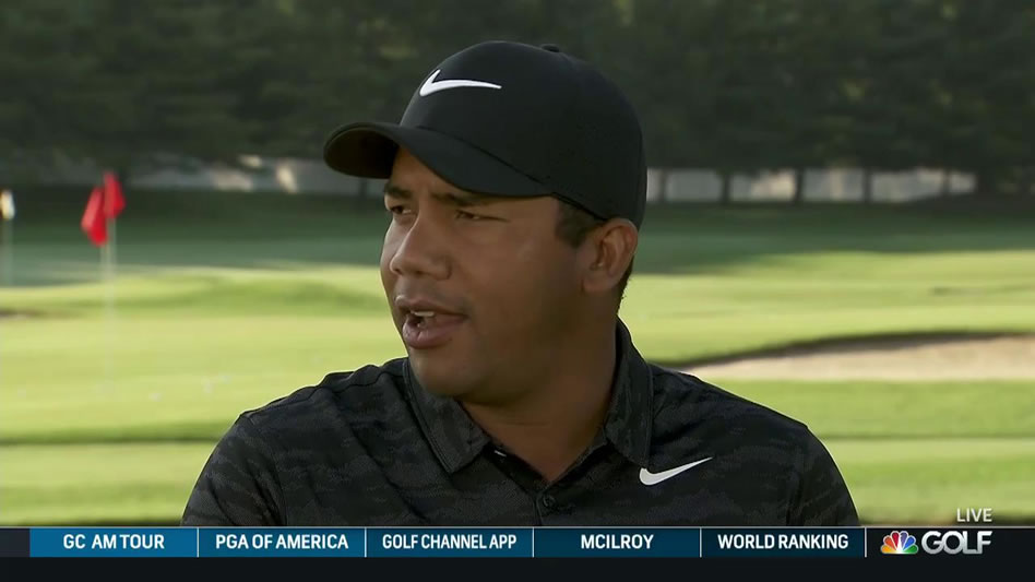 Jhonattan Vegas (cortesía Golf Channel)