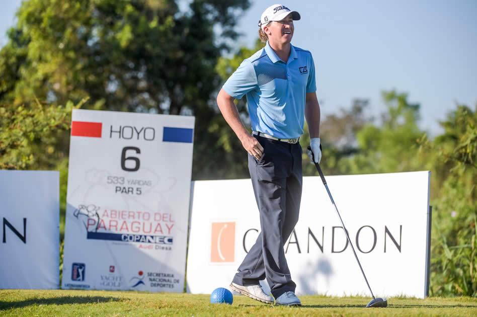 Nick Palladino (USA) sigue por el buen camino en el Abierto del Paraguay Copa NEC presentado por Audi Diesa / Gentileza: Enrigue Berardi/PGA TOUR