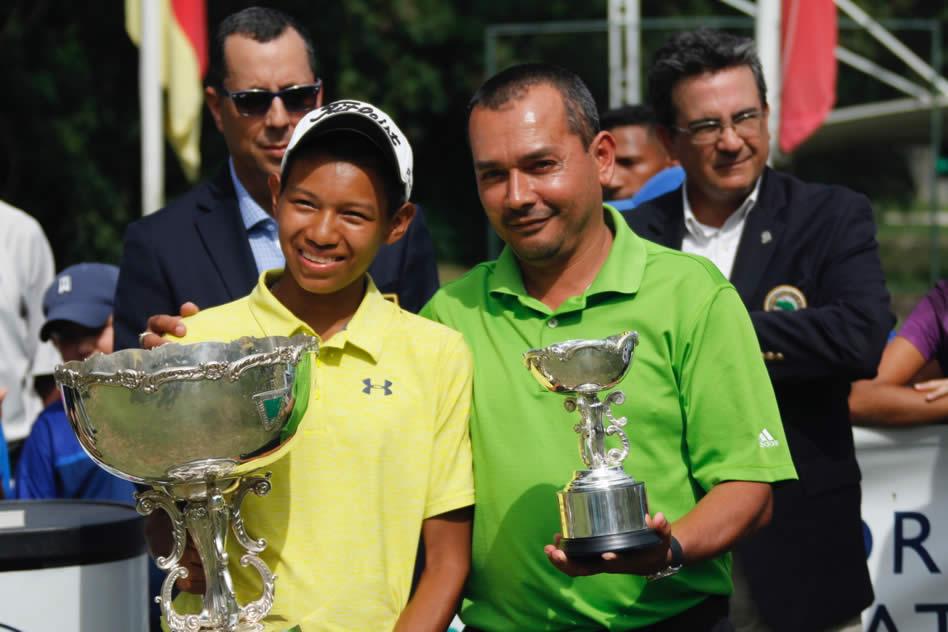 Amauriel y Valentina iluminan las páginas de la historia del golf en Venezuela