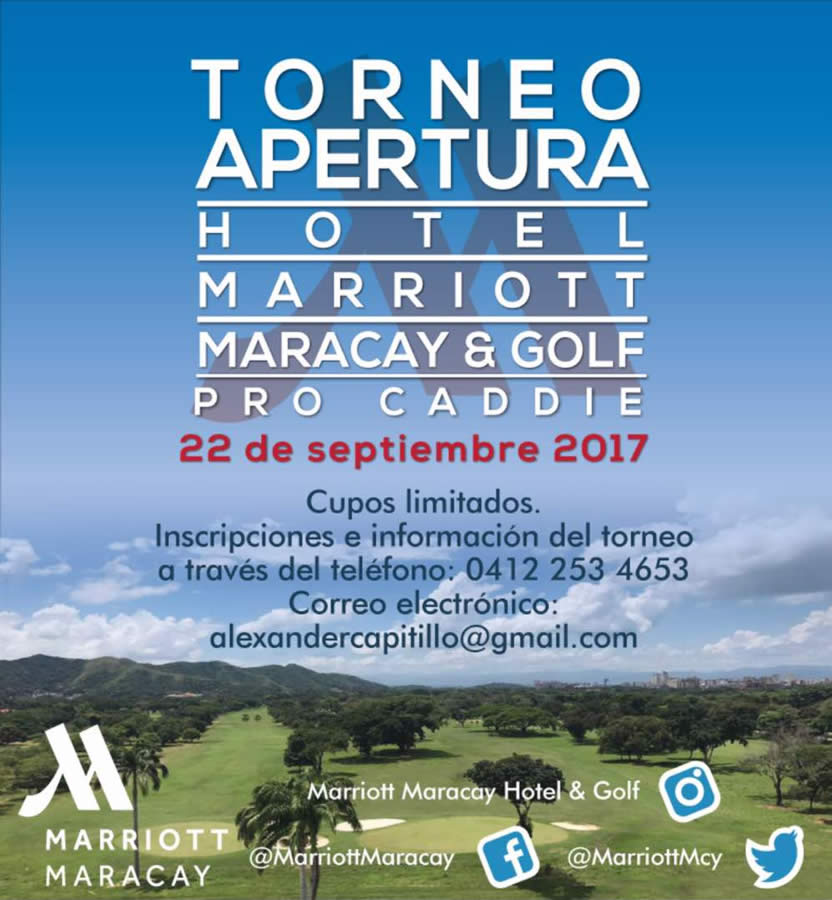 Apertura Hotel Marriott Maracay & Golf