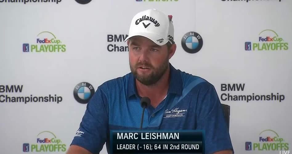 Australiano Leishman se despega con 18 por jugar en el BMW Championship