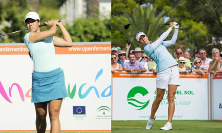 Carlota y Azahara se salen en el Andalucía Open de España. Comparten liderato y buscarán el triunfo