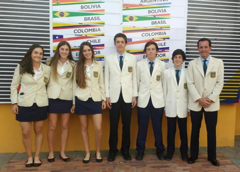 Equipo Uruguay Sudamericano Prejuvenil (cortesía Twitter)