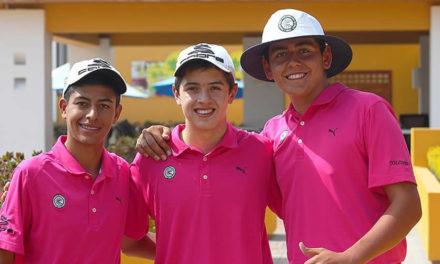 Colombia y Chile Campeones del Sudamericano PreJuvenil de Golf en Ecuador