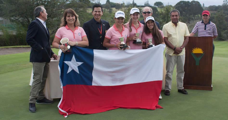 Colombia y Chile, los grandes campeones al final del Campeonato Sudamericano Prejuvenil 2017
