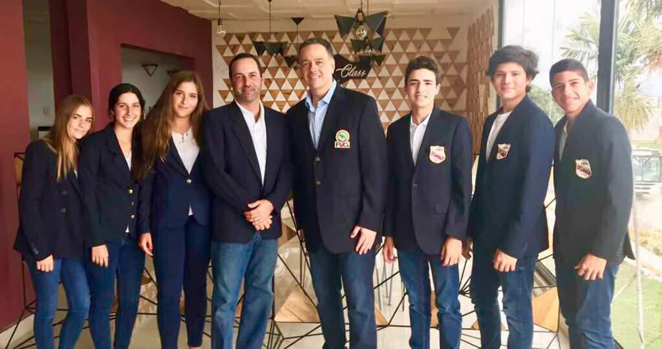 Delegación Venezolana parte al Sudamericano Prejuvenil de golf en Quito
