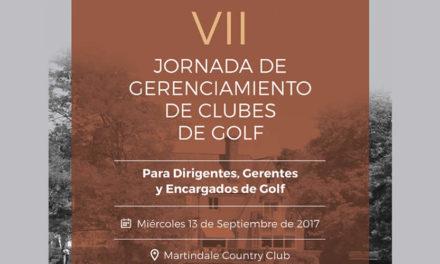 El miércoles comienza la VII Jornada de Gerenciamiento de Clubes de Golf