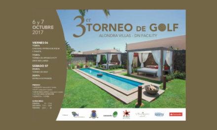 El miércoles se presenta el III Torneo de Golf Alondra Villas – DN Facility