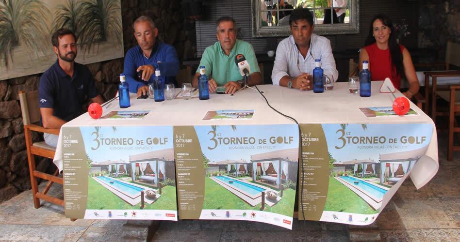El Torneo de Golf Alondra Villas – DN Facility contará con más de un centenar de participantes