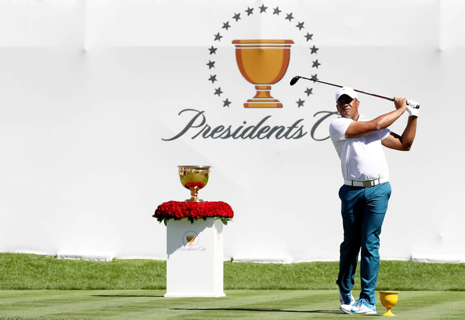 Estados Unidos sacó ventaja en primer día de la Presidents Cup (cortesía Getty Images - Elsa)