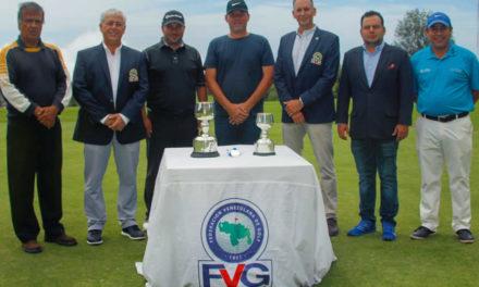 Félix Domínguez se titula campeón de Principio a fin en el IV Nacional Mid Amateur de Golf