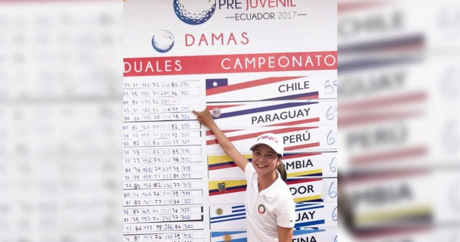 Gio, campeona; Paraguay, vice