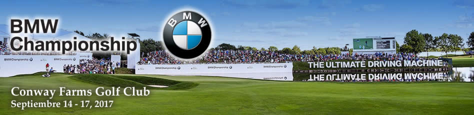 BMW Championship. Conway Farms Golf Club. Septiembre 14 - 17