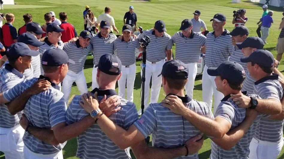 Equipo USA (cortesía PGA TOUR Communication)