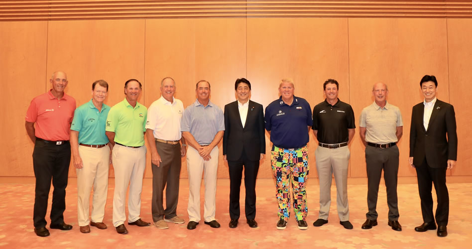 Japón se une por primera vez al PGA TOUR Champions