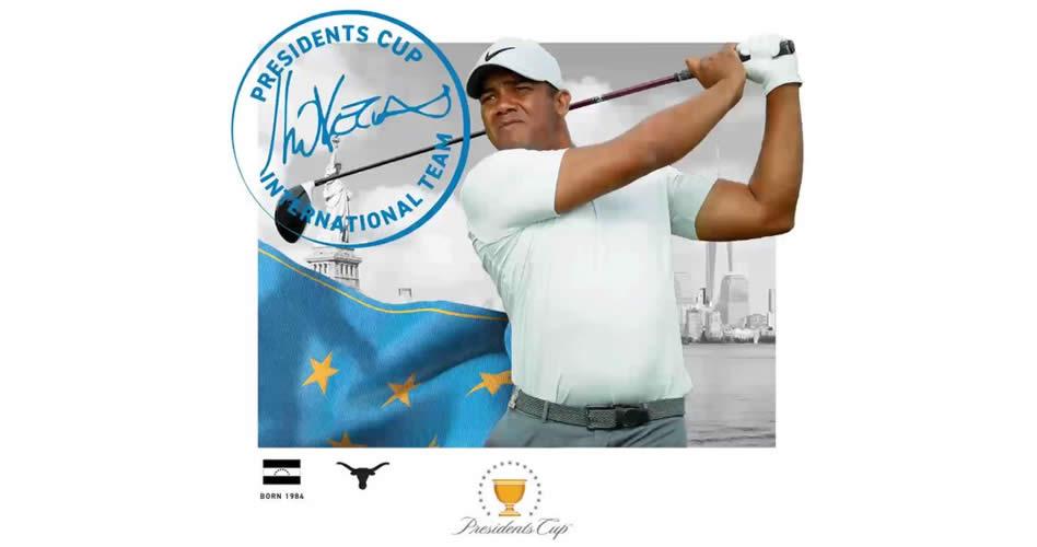 """Jhonattan Vegas """"Jugar la President's Cup es un sueño hecho realidad"""""""