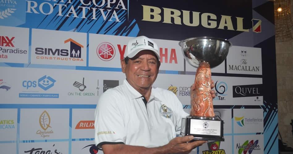 Jorge Medina conquista la XLIII Copa Rotativa Brugal; Santiago Morales la Copa Open