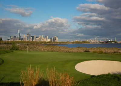 Liberty National Golf Club en imágenes (cortesía Stan Badz y Chris Condon / PGA Tour / Getty Images)
