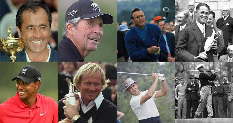 Los 8 mejores golfistas de la historia