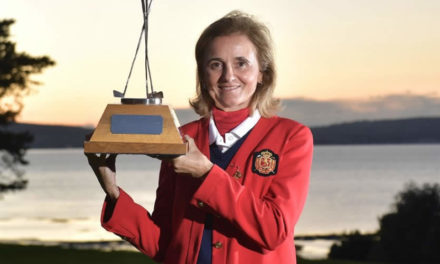 Macarena Campomanes, la primera española que gana el British Senior Ladies