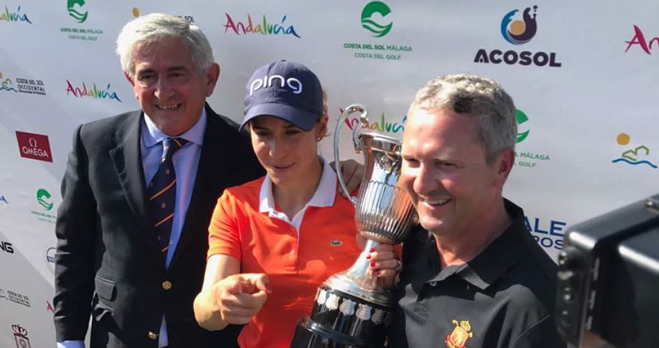 Marcelo Prieto ve a Azahara ganando grandes y de nuevo en el top 20 mundial