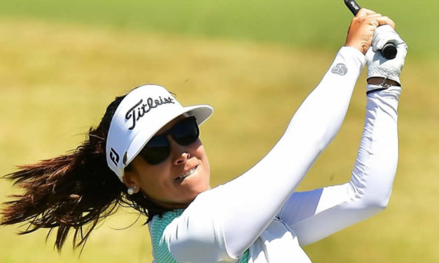 'Mariajo' Uribe arrancó octava en el McKayson New Zealand Women's Open