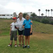 Nueva jornada de golf para los más pequeños de Lanzarote