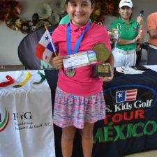 Panameña Luciani gana en el Cancún Challenge del US Kids Golf