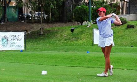 Super campeona Valentina Gilly en Nacional Amateur de Golf
