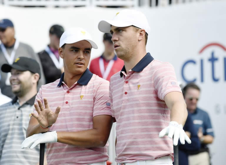 Rickie Fowler y Justin Thomas (cortesía Golf Digest)
