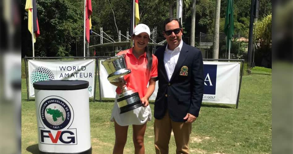 Valentina Gilly Campeona Nacional Amateur 2017