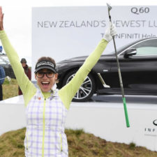 Video, hoyo en uno de Belén Mozo en la segunda ronda del New Zealand Open
