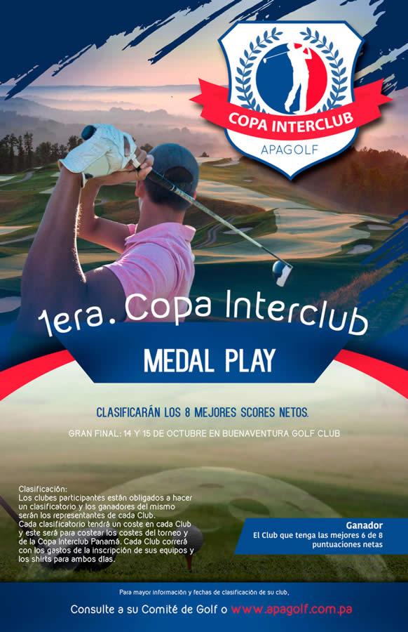 Afiche 1ra Copa INTERCLUB