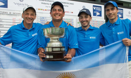 Argentina conquistó el Campeonato Latinoamericano de Golf 2017