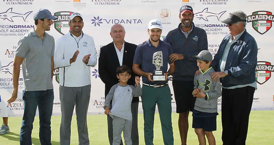 Armando Villarreal gana el Greg Norman Academy Professional Golf Tour en La Vista Country Club
