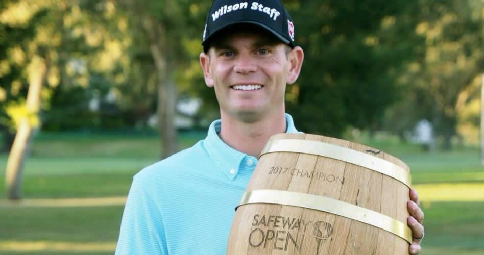 Brendan Steele triunfó en el comienzo de la nueva temporada del PGA Tour