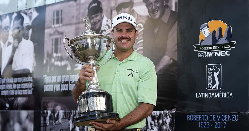 Brian Richey gana de punta a punta en Uruguay