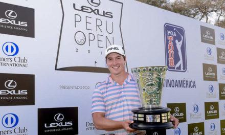 Charlie Saxon escapa con la victoria en el Lexus Perú Open