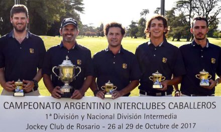 ¡Córdoba Golf Club Campeón del Interclubes!