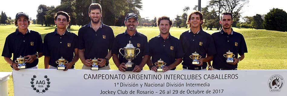 ¡Córdoba Golf Club Campeón del Interclubes!