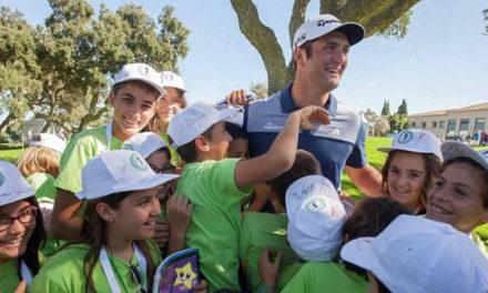 Dejad que los niños se acerquen al golf