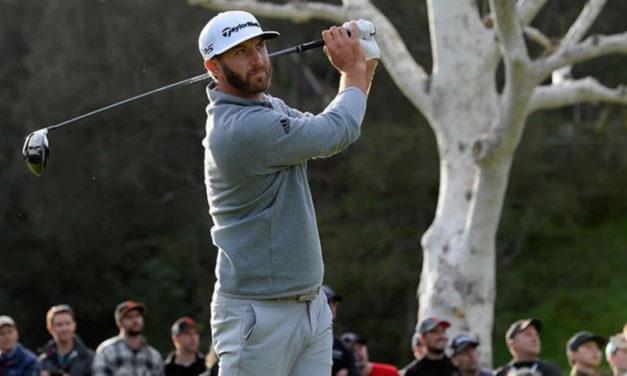Dustin Johnson, campeón del World Golf Championships-Mexico Championship, hace su debut en la temporada 2017-18 del PGA TOUR