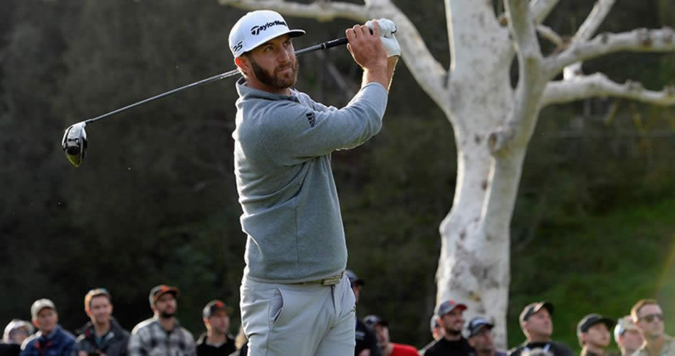 Dustin Johnson, campeón del World Golf Championships-Mexico Championship, hace su debut en la temporada 2017-18 del PGA TOUR