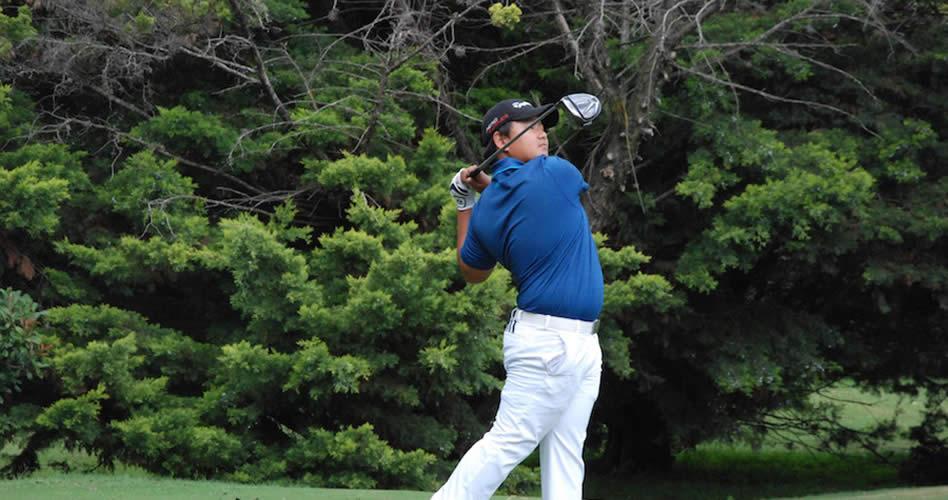 El argentino Federico Shin y la colombiana Valery Plata, líderes a falta de una ronda en el golf de los Juegos Sudamericanos Santiago 2017