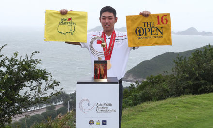El chino Yuxin Lin se quedó con el titulo del Asia-Pacific Amateur Championship